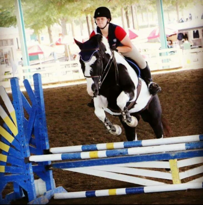 Diablo in his Equifits four years ago!